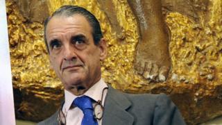 Former banker Mario Conde