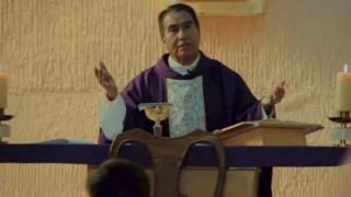 El sacerdote acusado de pederastia.