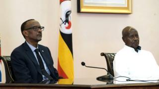 Ba Prezida Paul Kagame na Yoweri Museveni barafashanije gushika ku butegetsi ariko ubu ntibacana uwaka