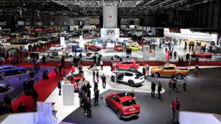 general view of the Geneva Motor Show 2016