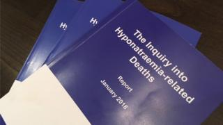 Hyponatraemia inquiry report