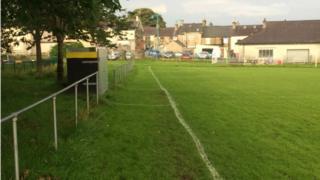 Llanllyfni FC's pitch