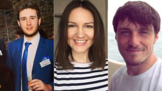 Profiles of Josh Vaughan, Karen Jones and Jeffrey Evans