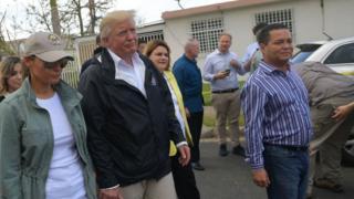 ترامپ در پورتوریکو