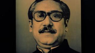 শেখ মুজিবুর রহমান।