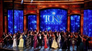 Stars at the Tony Awards
