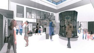 Artist's impression of Gairloch Museum