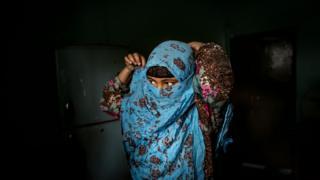 bangladeşli kız