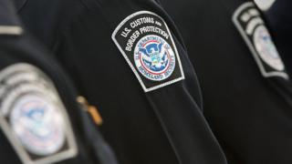 Officers with the US Customs and Border Protection