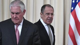 Tillerson ve Lavrov