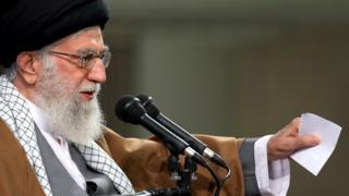 رهبر ایران در دیدار با معلمان
