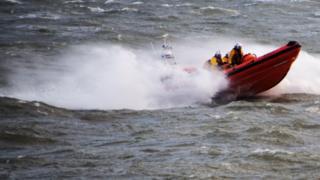 Beaumaris inshore lifeboat
