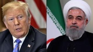 روحانی و ترامپ