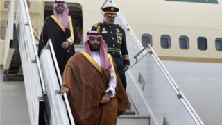 ولي العهد السعودي يصل بوينس آيرس لحضور قمة مجموعة العشرين