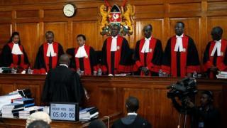 Mahakama ya juu nchini Kenya inasikiliza kesi ya kupinga ushindi wa Uhuru Kenyatta