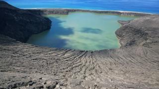 Isla Hunga Tonga Hunga Ha'apai. (Foto: Gianpiero Orbassano)