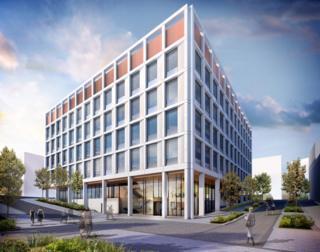 Impression of Newcastle Laboratories