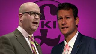 Paul Nuttall and Nathan Gill