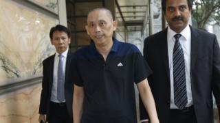 Tan Seet Eng (Dan Tan) leaves Singapore's Supreme Court (25 Nov 2015)