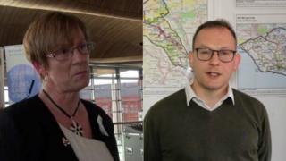 Joyce Watson a Gareth Bennett