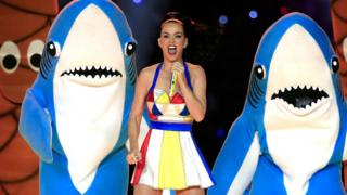 Katy Perry performance at the Super Bowl