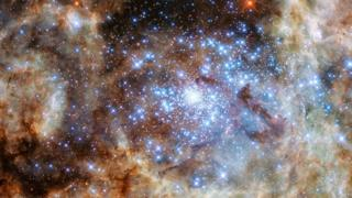 Tarantula Nebula of the LMC