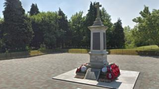 Connah's Quay and Shotton cenotaph