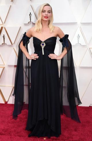 Margot Robbie sur le tapis rouge