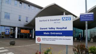 Darent Valley Hospital in Dartford