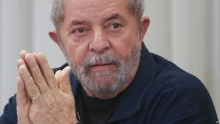 "Brazil""s former President Luiz Inacio Lula da Silva attends an extraordinary Worker's Party leaders' meeting in Sao Paulo, Brazil. Brazilian 2015"