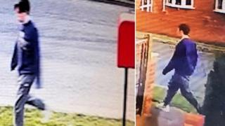 in_pictures Owen Harding seen on CCTV images in Saltdean on the day of his disappearance