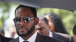 animals R Kelly outside court
