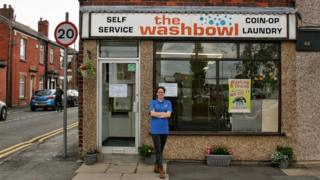 Taryn in front of The Washbowl