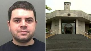 Aaron Hughes and Newport Crown Court