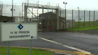 Maghaberry prison sign