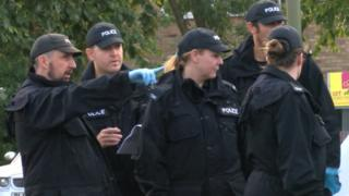 Police said they were focusing patrols and inquiries on the Marston Meadow area