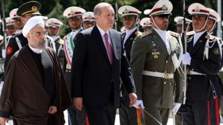 این دومین سفر رجب طیب اردوغان به تهران در دوران ریاست جمهوری حسن روحانی خواهد بود