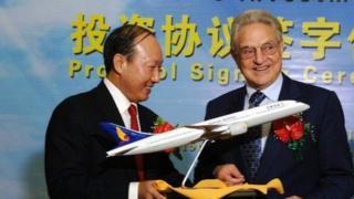 陳峰同美國投資人索羅斯