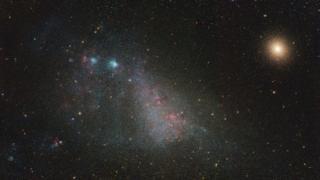 Hacia la pequeña nube de Magellanic de Ignacio Diaz Bobillo