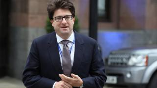 Lord Andrew Feldman, the Conservative Party co-chair in Manchester