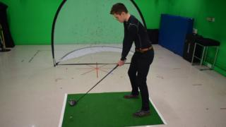Golfing yoga study