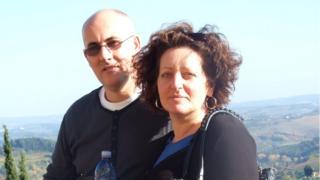 Yve Gibney e o marido, Maurice