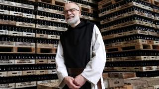 Belgian Trappist monk Manu Van Hecke