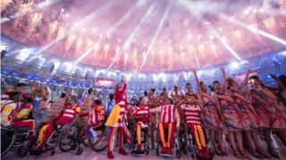 Ceremonia de inauguración Juegos Paralímpicos Río 2016