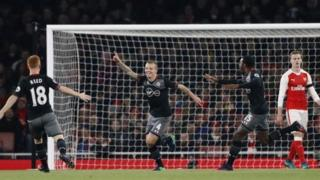 Jordy Clasie Scores his first goal for Southampton