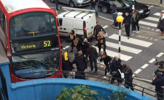 Bus crash in Ladbroke Grove