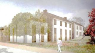 Artist Impression of Care Home