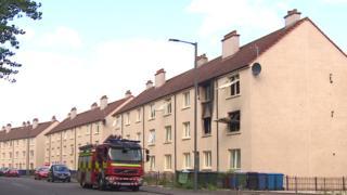 Falkirk fire