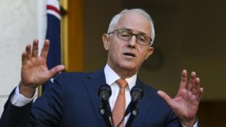 Waziri mkuu Malcolm Turnbull