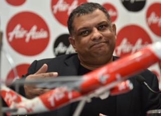 AirAsia CEO Tony Fernandes.
